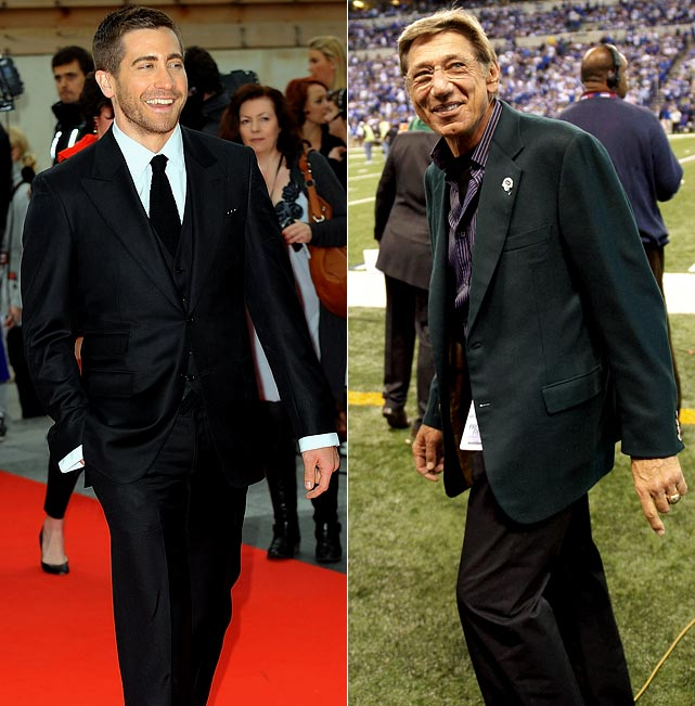 "Famous people are always asked ""who would play you in a movie?"" Imagine, for a second, Joe Namath had to answer.  Do you think he would say Jake Gyllenhaal?  Let's hope so.  Gyllenhaal said he would love to play Broadway Joe and is even working on the storyline."