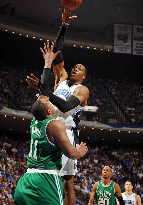 """They only won two games. Pride comes before a fall, just know that.""   Orlando Magic's Dwight Howard on being down 2-0 to the Boston Celtics."