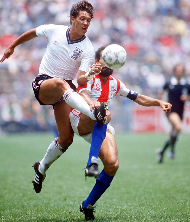 England's World Cup dreams ended at the hands of Diego Maradona and Argentina, but with six goals Lineker did his part.