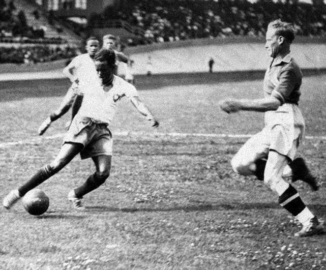 Leonidas scored eight times in the '38 World Cup, with four against Poland. However he was rested in the semifinals and Brazil subsequently lost to Italy.