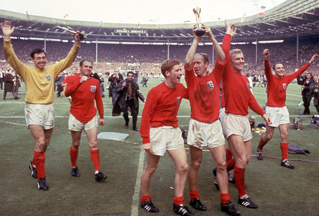 England triumphed on home soil under Alf Ramsey, who'd revolutionized the national team. The 4-2 win over West Germany after extra time in the final remains the defining moment in English soccer, though the containment of Portugal a game earlier was equally decisive.