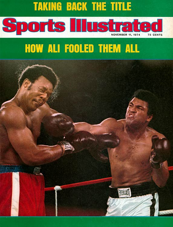 """Ali will forever be remembered for the """"Rumble in the Jungle,"""" his epic 1974 fight in Zaire with George Foreman, against whom he unveiled the rope-a-dope and won via an eighth-round knockout."""