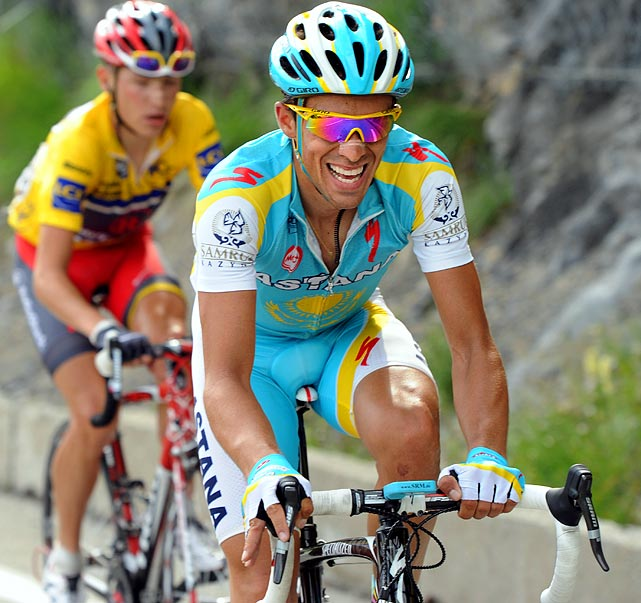 A two-time Tour de France winner going for his third in 2010, Contador is the race's favorite. He has won three races already this year: Tour of Algarve, Vuelta de Castilla and Leon and Paris-Nice. He will try to repeat without the support of former teammate Lance Armstrong, who bolted Astana last year to create his own team.
