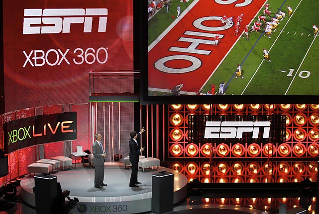 At this year's E3 conference, Microsoft and ESPN announced that ESPN3 (formerly ESPN360) will be available on Xbox Live in the fall. ESPN says the service will allow users to access over 3,500 events, including college football, college basketball, NBA, MLB, soccer, golf and tennis.  The service will be free to all Gold subscription members on Xbox Live. Unfortunately, the service will likely not be available to customers using internet providers that don't have carriage deals with ESPN.