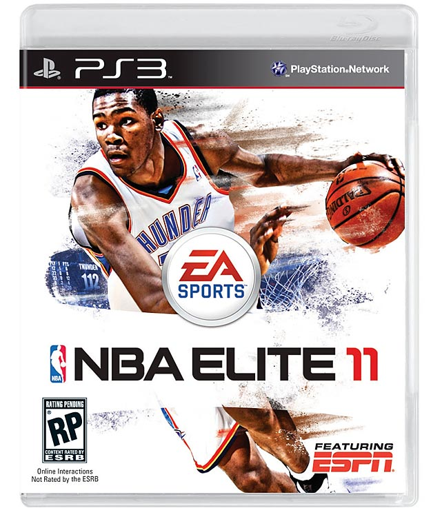 Oklahoma City Thunder forward Kevin Durant has landed the cover for EA's next NBA flagship title. Durant led the league in scoring and helped put the young and athletic Thunder on the map in the Western Conference after a dramatic opening-round playoff series with the Lakers that lasted six games. NBA Elite is scheduled for an October 5 release on the Xbox 360 and PS3.