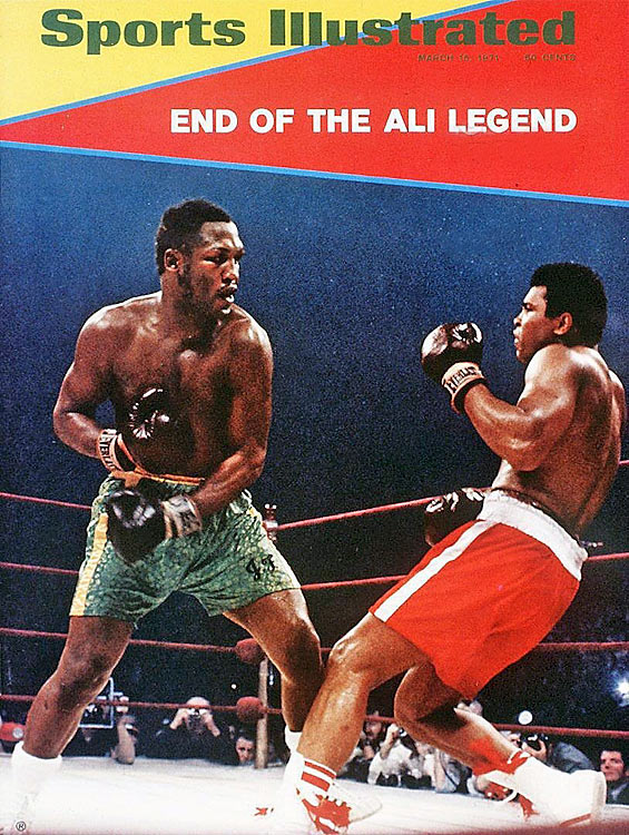 Smokin' Joe Frazier took on undefeated challenger Muhammad Ali on March 8, 1971 at Madison Square Garden in one of the most anticipated matchups in boxing history. Ali came in after missing a chunk of his prime years due to legal woes related to anti-war protest. Once in the ring, the two put on a show. Frazier outlasted Ali and won by unanimous decision, the first of three intense bouts between these two legends.