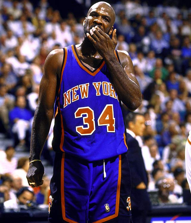"""Former Knicks big man and LeBron mentor Charles Oakley says his protege should steer clear of New York. In an interview with WQAM Radio in Miami, the always entertaining Oakley threw Patrick Ewing, Pat Riley and the Knicks  under the bus before saying he """"can't tell [LeBron] to go to New York. New York treated me bad"""""""