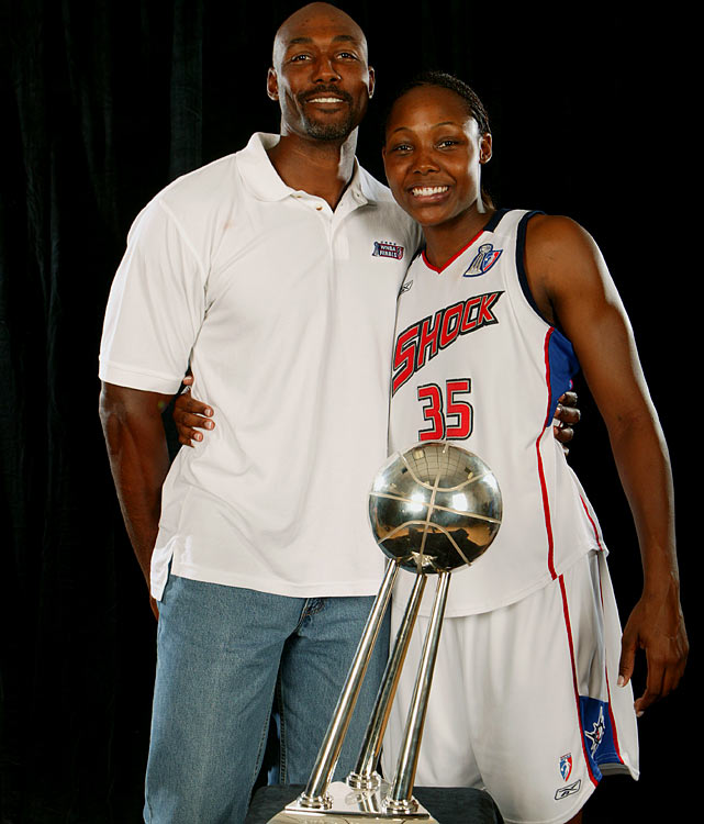 Cheryl Ford, the 2003 WNBA Rookie of the Year, is a proud Louisiana Tech alumna just like her dad Karl.