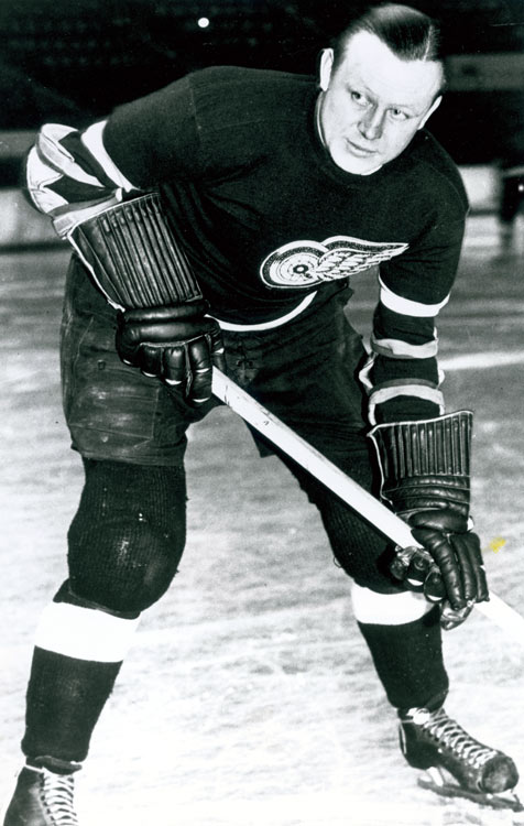 And you thought the days of the neutral zone trap were stultifying. The Detroit Red Wings and Montreal Maroons remained scoreless for 116 minutes 30 seconds before rookie Mud Bruneteau ended the misery by beating Montreal goalie Lorne Chabot off a pass from Hec Kilrea. (Ebbie Goodfellow pictured)
