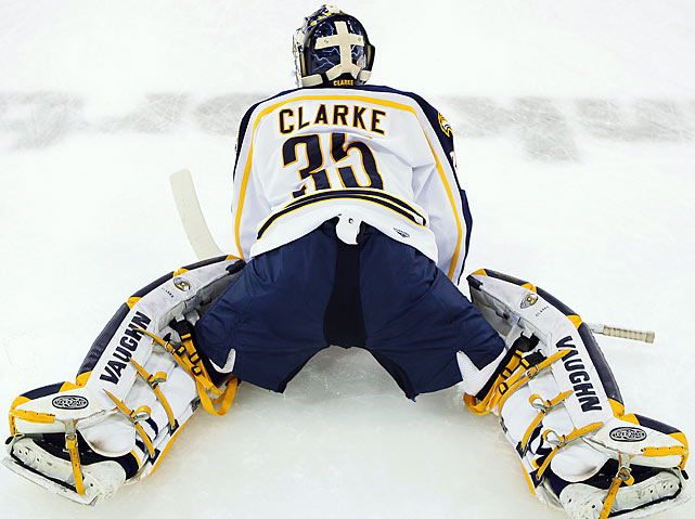After 150 minutes and 22 seconds of play, Quinnipiac's Greg Holt gave his Bobcats a 3-2 win over Union College at 1:03 a.m. The teams took a combined 130 shots in the game, with Bobcats goalie Dan Clarke setting an ECAC tournament record of 73 saves while holding Union scoreless the final 140.40 after it had led 2-0 in the first period.