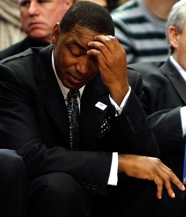 Isiah Thomas was removed from his role as team president on April 2, 2008 when Donnie Walsh took over the job following a 23-59 season. Thomas was then fired by Walsh as head coach on April 18. Thomas' tenure with the Knicks was marred by a sexual harassment accusation, public feuds with his players, and compiling a number of salary-cap crippling contracts while trading away draft picks.