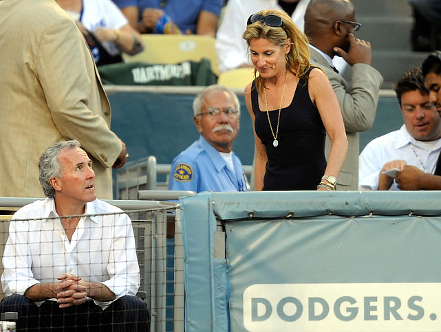 In October 2009, Jamie McCourt, former CEO and co-owner of the Dodgers, was fired by her estranged husband, Frank McCourt, as the couple began a messy divorce process that has both parties claiming ownership of the team. The firing was included in the legal proceedings that are still playing out over who owns the team.