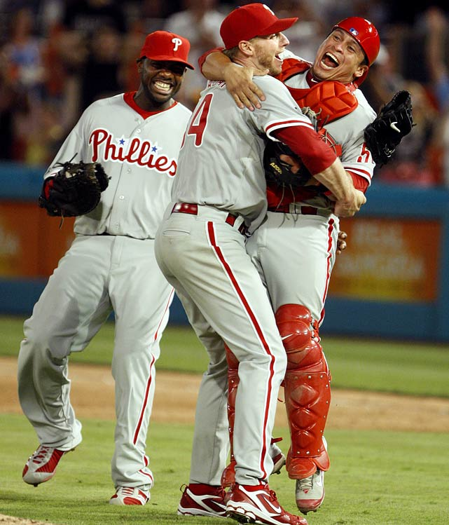 A top candidate to win the NL Cy Young in 2010, Halladay produced his signature performance as a Phillie, striking out 11 Marlins and notching the 20th perfect game in MLB history in the Phillies 1-0 win over the Marlins on May 29. Florida catcher Ronny Paulino made the 27th and final out, grounding to third base, clinching one of the most historic achievements in Philadelphia sports history.