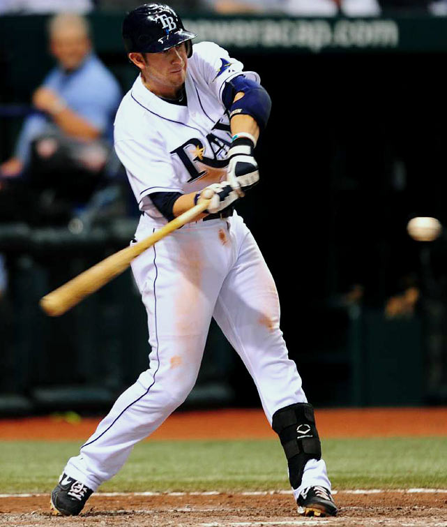 The American League Rookie of the Year in 2008, Longoria has quickly become one of the most feared hitters in baseball, to go along with a slick-fielding glove at third. His .316 average, 10 homers and 42 RBI have helped the Rays jump out to a 36-18 record, the best in baseball through two months.