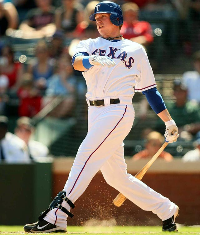 Who'll hit the most home runs this year? Which pitcher will have the most strikeouts? Those questions and others will be posed by SI.com over the next two months in a series of poll galleries with a ballot on the last frame. This week's question: Who'll win the AL Rookie of the year award?   The Rangers selected Smoak with the 11th pick in the 2008 MLB Draft to replace Mark Texiera, and the 23-year-old switch hitting first baseman from South Carolina doesn't appear to be backing down from the challenge. Through June 23 he was batting .223, but with an OBP over .330. He had seven hits, two HR and eight RBI in a recent three-game stretch.