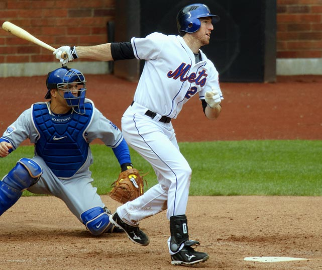 Asked to bolster a floundering Mets offense, the 18th overall pick in the 2008 MLB First Year Player Draft was called up from AAA Buffalo on an April 19. As of June 16, the Mets were 32-20 and half a game back of Atlanta for first place in the NL East. Davis was batting .258 (.346 OBP), with 8 HR and 28 RBI.