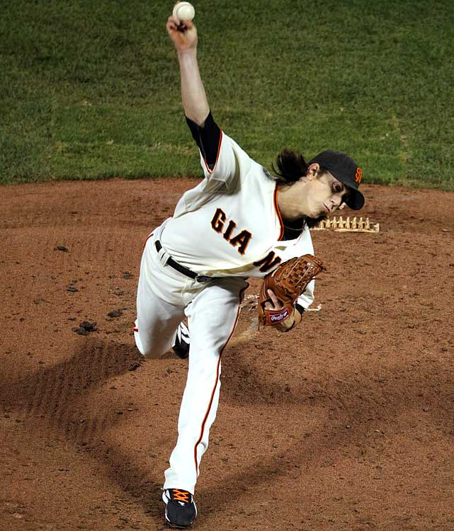 Giants ace Tim Lincecum made his first postseason start a memorable one.  The two-time NL Cy Young winner shutout the Braves in Game 1 of the NLDS by allowing just two hits while striking out 14. It was only the sixth time ever that a pitcher tossed a 1-0 shutout while giving up just two hits or less.