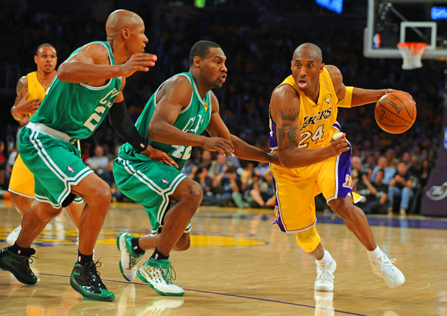 Bryant continues his chase for a second straight title on Sunday, when the Lakers face Boston in Game 2 in L.A.