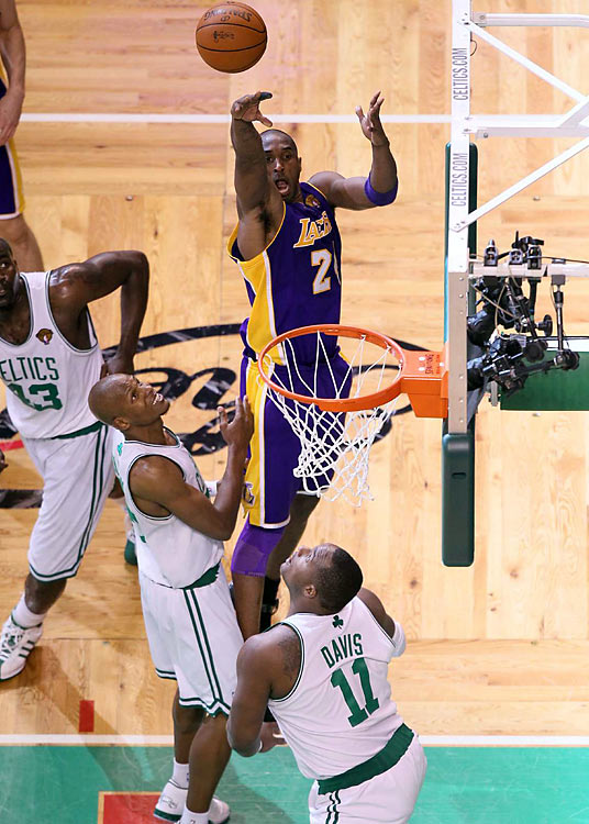 "On what some called an ""off-night,"" Kobe still poured in 29 points, to go along with seven rebounds, four assists, three blocked shots and two steals."