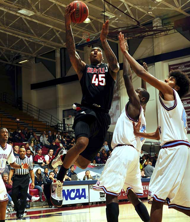 Seattle University, Junior Power Forward 6-10, 230 pounds, 21 years old  Physically impressive power forward with rare shot-creating and ball-handling skills.