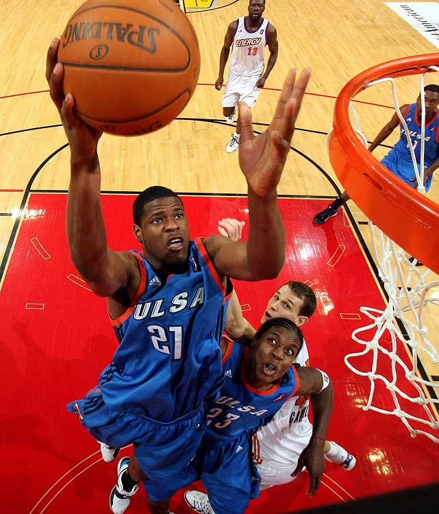 Tulsa 66ers, Automatically Eligible (would-be freshman) Power Forward 6-8, 190 pounds, 21 years old  Long and athletic combo forward who ranked as the D-League's most prolific rebounder as a would-be college freshman.
