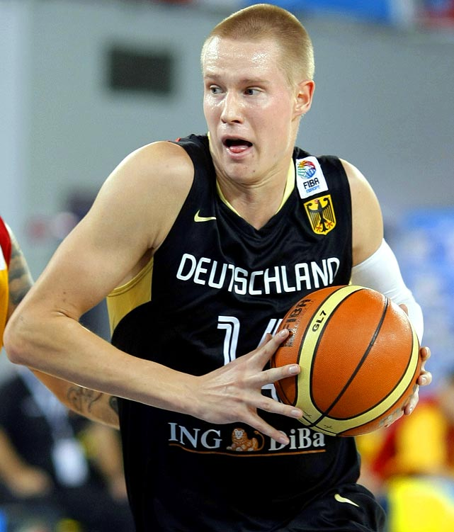 ratiopharm Ulm, 1989 International Small Forward 6-10, 210 pounds, 21 years old  Oversized wing player with one of the sweetest shooting strokes in this draft class.