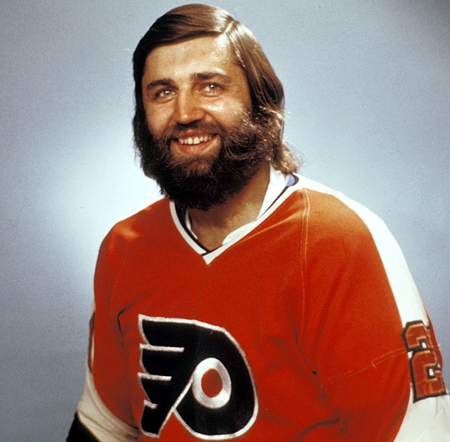 And no one rocked the comb-over harder than Cowboy Bill Flett ....