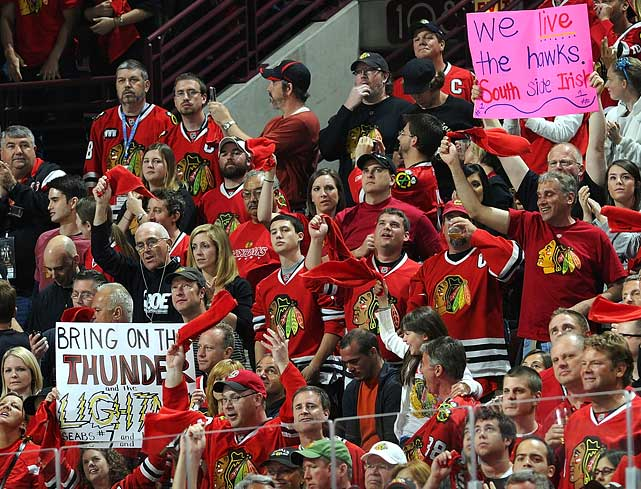 For good reason, Chicago's United Center is known as the Madhouse on Madison.
