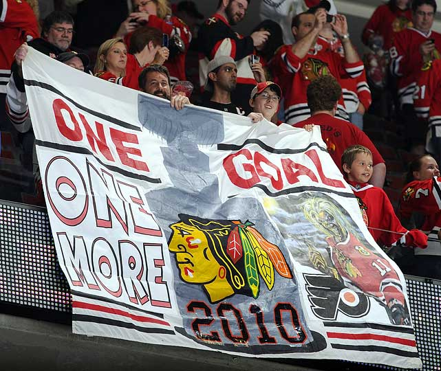 After the Blackhawks won Game 5 at home, the prize was in sight.