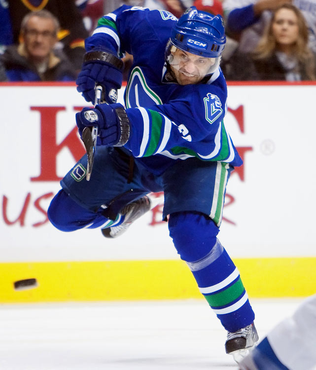 A quick, versatile playmaker and former All-Star (1999) with a good finishing touch, he has been dogged by injuries during his 16 year career and is not the most physical player.   2009-10 stats (Vancouver):   28 GP  3 G  13 A  16 Pts