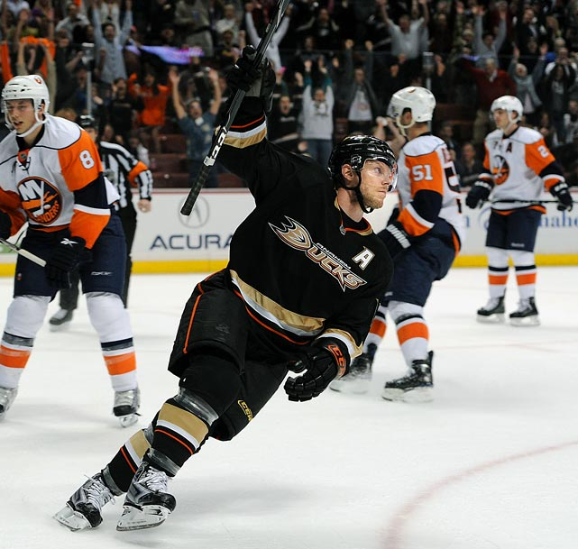 Re-signed with Anaheim Ducks (2 years, $5 million)  Slick playmaker whose lack of size is offset by his huge heart. A cancer survivor, Koivu is a respected veteran leader.   2009-10 stats (Ducks):   71 GP  19 G  33 A  52 Pts