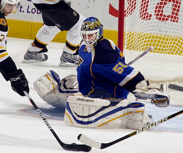 Signed with Atlanta Thrashers (2 years, $3.7 million)  Unseated by the arrival of Jaroslav Halak and still searching for a place to be the No. 1 stopper after eight seasons, Mason's inconsistency likely makes him an ideal backup at this point.   2009-10 stats (St. Louis):   61 GP  30 W  22 L  8 OTL  2.53 GAA  .913 SV%