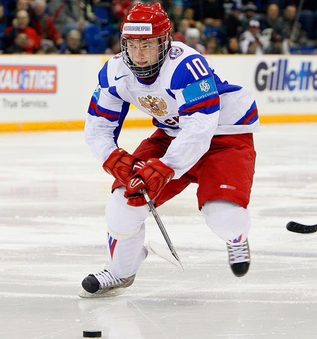 "European Scouting says:  ""Vladimir is very effective around the net with his excellent overall skill level and vision. He is a strong, mobile skater with a quick shot. He is not only a sniper, but also a good passer and playmaker. There are no real weaknesses in his overall game and he will be one of the most interesting prospects at the draft."""
