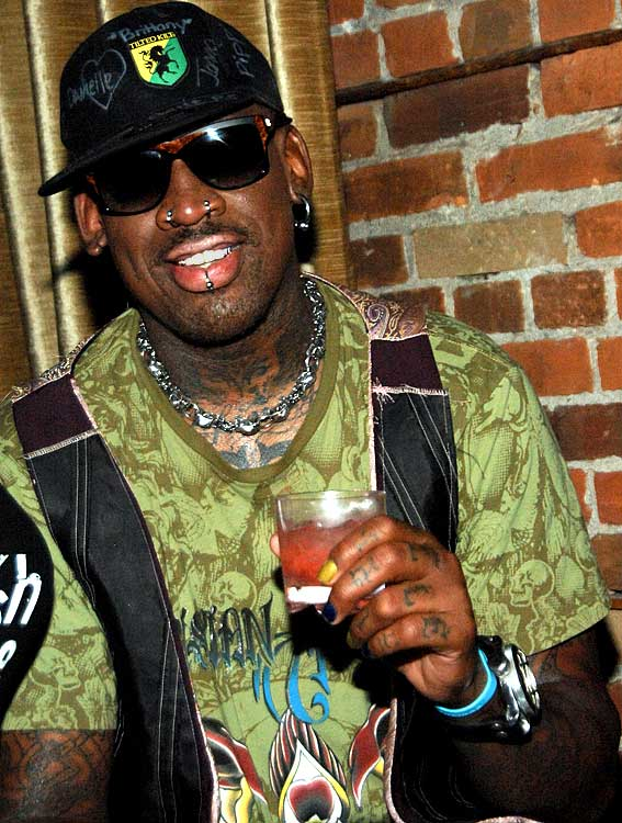 """We hope """"Celebrity Rehab"""" paid well.  Ex-basketball player Dennis Rodman has supposedly neglected to pay child support and now owes more than $300,000.  Rodman better have some money saved or projects in the works because his estranged wife wants the money ASAP."""