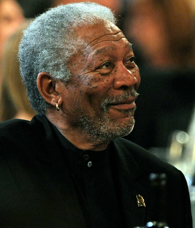 Add Morgan Freeman to the list of soccer-loving celebrities. Freeman recently joined the committee dedicated to bringing the World Cup to the U.S.  The cause seems right up the actor's alley, as he's starred in such sports movies as  Million Dollar Baby  and  Invictus .