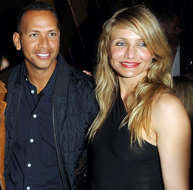 "In case there is any doubt as to whether Cameron Diaz is dating A-Rod, the blonde actress has three words for you: ""No, no, no.""  Well, guess that's the same word three times. Diaz dispelled rumors of her love life in an interview for Playboy, saying she is currently in a relationship with herself."