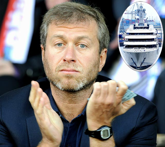Russian billionaire Roman Abramovich is still waiting for a Christmas present.  The Chelsea Football Club owner was supposed to get the world's biggest, most expensive yacht more than six months ago, but imperfections have stalled the process. Among the problems on the $486 million ship, a misplaced helipad and engine vibrations that rattle his crystal.