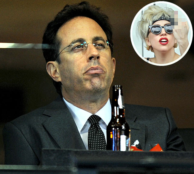 "If there is one thing comedian Jerry Seinfeld takes seriously, it's the New York Mets.  Apparently, he was none too pleased with Lady Gaga's behavior at Citi Field a few weeks back during which the pop star flipped photographers off while sitting in Seinfeld's luxury box.  He had this to say about the incident: ""This woman is a jerk.  I hate her.  I can't believe they put her in my box, which I paid for."""