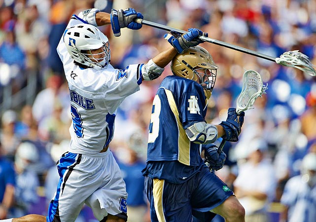 """On scoring the game-winning goal in the NCAA Lacrosse Championships...   """"Everyone kind of thinks about that. It's kind of cool. It's fairy tale stuff. You don't think it's going to happen. I guess it kind of happened."""""""
