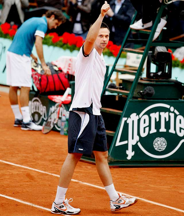 """After defeating Roger Federer in the quarterfinals of the French Open...   """"When I won the second set, which was very big for me, I really felt I could relax a little bit. After that I started to play better and better."""""""