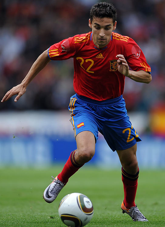 It's likely Navas will be behind David Silva in coach Vicente Del Bosque's pecking order, but he's a quality impact substitute, and if Spain goes as far as many predict, it'll need fresh legs available. Navas strikes the ball beautifully and his willingness to get forward down the flanks sees him provide plenty of opportunities for teammates.