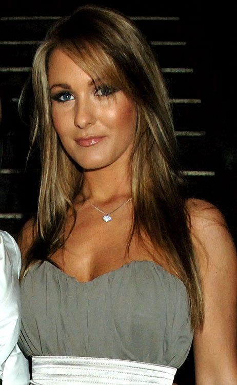 Amii Grove, girlfriend of Gabby Agbonlahor (Aston Villa), attends the after party following the world premiere of  The Bank Job , at Paper Club on February 18, 2008 in London.