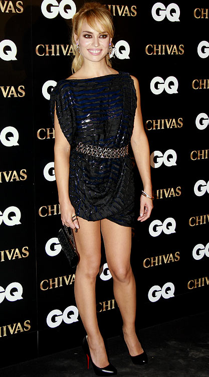 Patricia Conde, girlfriend of Miguel Torres Gomez (Getafe), attends the 2009 GQ Awards on November 12, 2009 in Madrid.