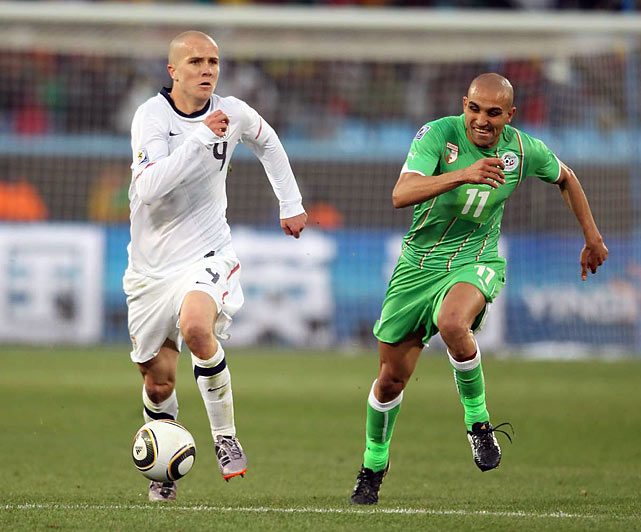 Michael Bradley was a catalyst in the midfield all day for the U.S., slicing through the Algerian defense, he created multiple scoring chances.