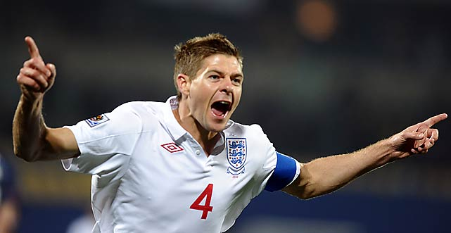 Team captain Steven Gerrard put England ahead, blowing past Ricardo Clark to beat Tim Howard from short range.