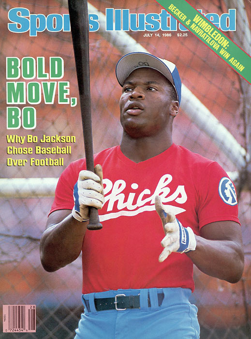 Bo Jackson signs a three-year contract to play baseball with the Royals. The Heisman Trophy winner will also play in the NFL as a running back with the Los Angles Raiders.
