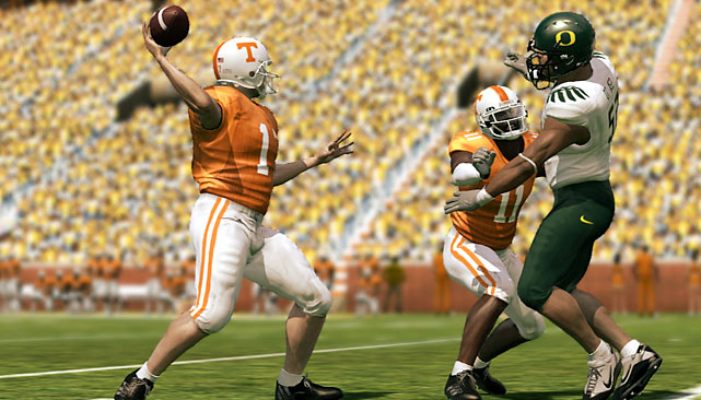 EA's college football game catches up to its pro counterpart with a ton of upgrades. The new online Dynasty mode will take over your life now that you can check-in on your team and recruit top prospects online, even from your smart phone. A new gameplay engine called the Locomotion System creates more realistic sequences, like players who make tip-toe sideline catches and squeeze through holes in the blocking scheme. The new right joystick controls improve the running game and help diversify your play-calling, while the game's ESPN license offers up authentic gameplay presentation to take it all in. The only drawback is a lack of upgrades to offline gameplay modes, but you'll be so consumed with monitoring the growth of your online dynasty, you won't even notice.  Score:  9/10  Video Review:  NCAA Football 11