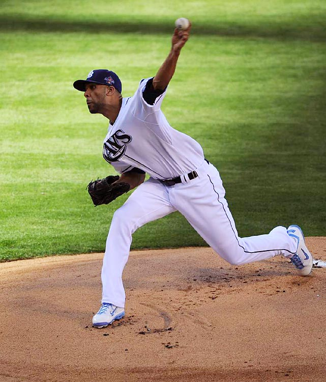 David Price, 24, the youngest pitcher to start an All-Star Game since Dwight Gooden (23) in 1988, allowed just one hit and struck out one in two scoreless innings before giving way to Andy Pettitte.