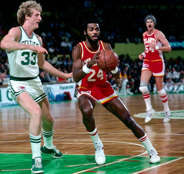 The best season of Armond Hill's eight-year career came in 1978-79, when he averaged 10.2 points and ranked among the league leaders with 5.9 assists for Hubie Brown's 46-36 Hawks. Hill went on to become the head coach at Columbia and an assistant coach under Doc Rivers with the Celtics.