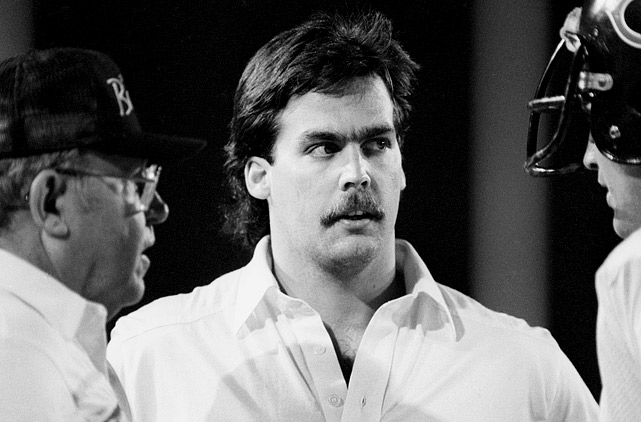 Before he was head coach of the Tennessee Titans, Jeff Fisher (center) was an assistant coach along with Buddy Ryan (left) for the 1985 Super Bowl champion Chicago Bears.